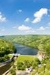 Leinwanddruck Bild - dam on Dyje river, Znojmo, Czech Republic