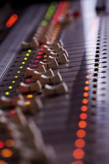Tonstudio Mischpult Technik 2
