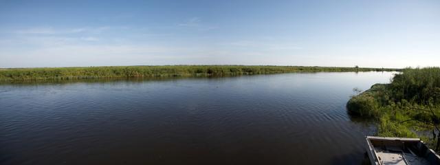 Okavango delta in North of Botswana