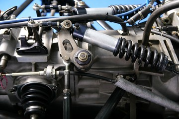 formula one car engine detail, industry and technology