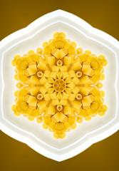 caleidoscopio di pasta, minestra