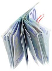 billets 20 euros fond blanc