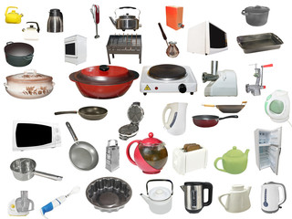 objects concerned of cooking