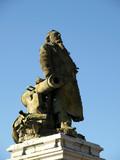 Statue Léon Gambetta poster