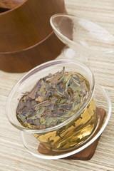 White Peony Tea in Gaiwan