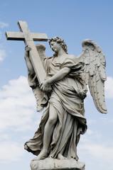 Angelo con la croce - Ponte sant'Angelo - Roma