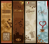 coffee banners (grunge is removable) - 20475339