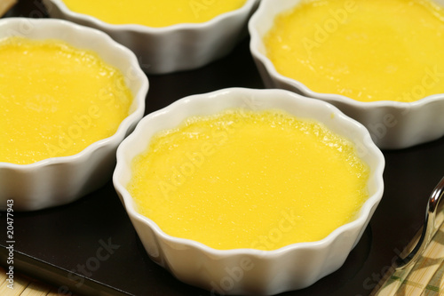 Custard cream - creme brulee