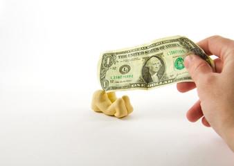 Geld in den...