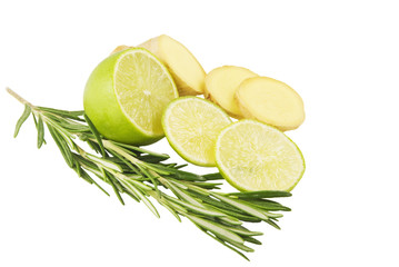 Rosemary lime and ginger