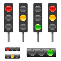 Traffic light & status bar