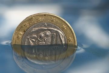 griechische 1-Euro-Münze