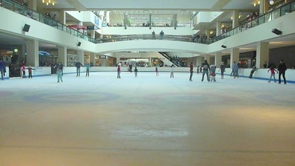Ice Skating Rink Time Lapse
