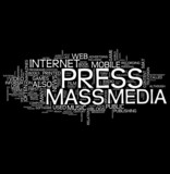 Press and Mass media poster