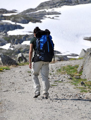 Hiker in Norway #2
