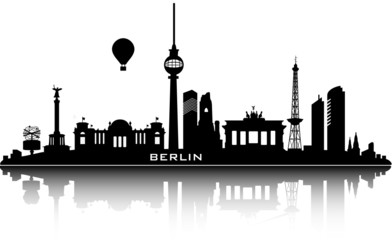 berlin skyline - top details