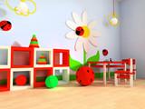 Fototapety Children's room