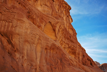 Red rocks in Egypt