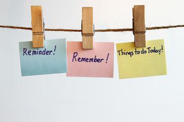 Remember reminder