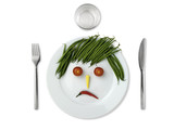 Unhappy Veggies Plate 01