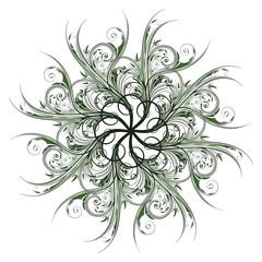 Abstrakt  - Floral - isoliert