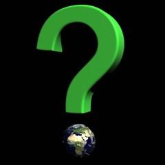 Point d'interrogation terrestre écologique