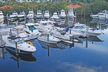 Marina in Aventura,Florida
