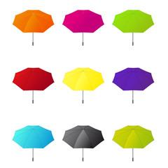 Regenschirme bunt