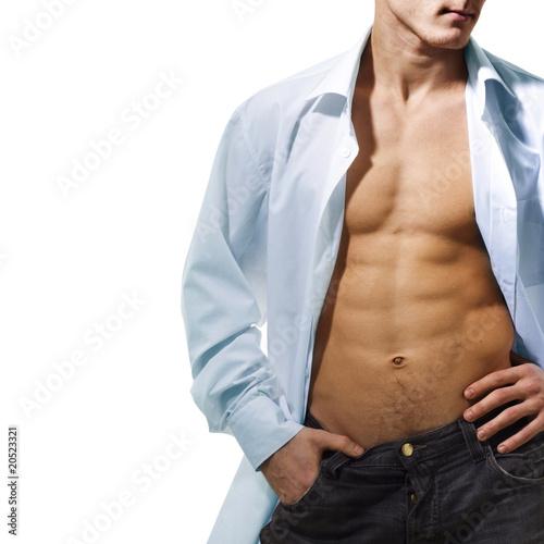 Open shirt