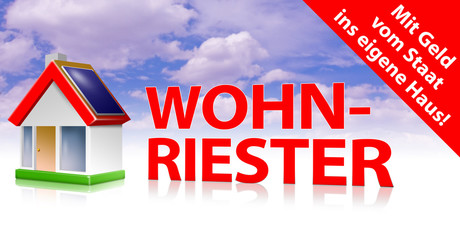 wohnriester riester-rente
