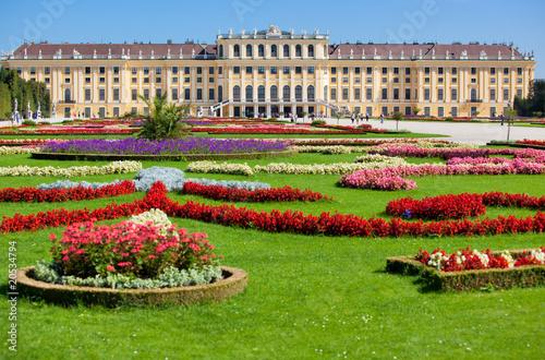 Zdjęcia na płótnie, fototapety, obrazy : Schonbrunn palace