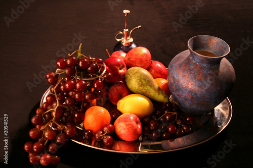 Fruit Platter Still Life