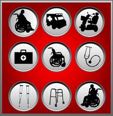 Medicine - buttons