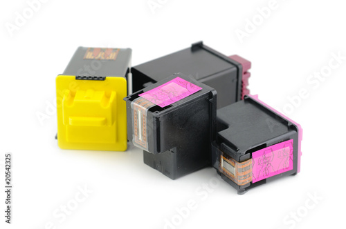 Inkjet printer cartridges
