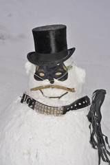 Schneemann, Winter, Sadist