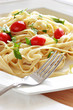 pasta with herbs and oil