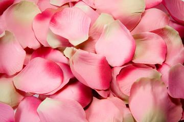 petali di rosa (in tessuto)