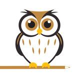 Fototapety Vector Cute Owl