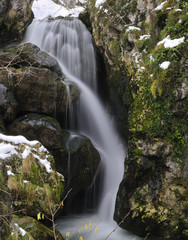 Cascada en el rio Cares