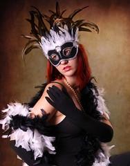 Maskierte Lady