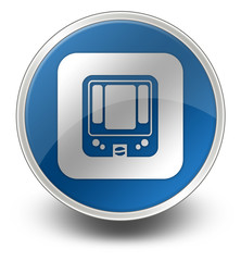 "Glossy Icon ""Rapid Transit / Subway"""