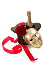 Theatervorstellung - Die Maske - Serie weiße Handschuhe