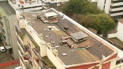 Dach von oben