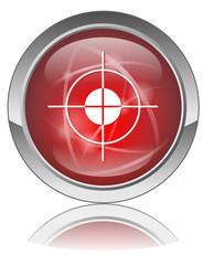 Bouton Web OBJECTIFS (Viseur Mire Cible But Stratégie Priorité)