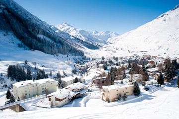 Andermatt in Winter