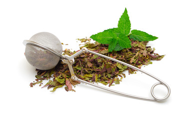 herbal tea with infuser