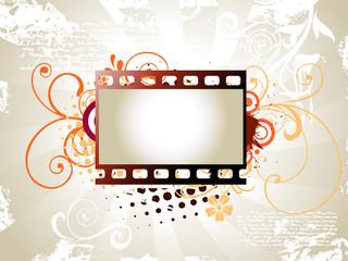 Photo reel vector art