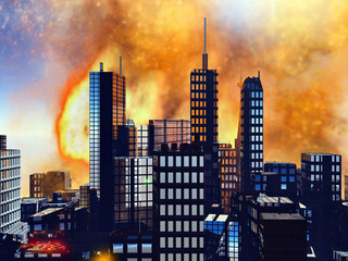 Bomb blast in New York