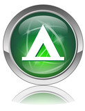 CAMPING Web Button (Campsite Accommodation Camper Tent Booking) poster