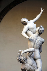 Rape of the Sabine Women - famous statue in Florence